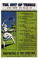 The Art of Tennis and How to Play It