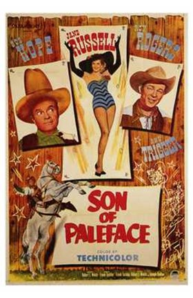 Framed Son of Paleface Print