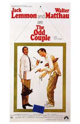 Framed Odd Couple Print
