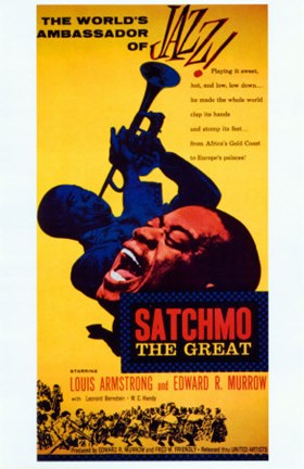 Framed Satchmo the Great Print