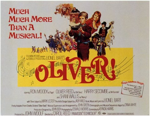 Framed Oliver More than a Musical! Print
