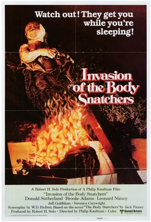 Framed Invasion of the Body Snatchers Watch Out! Print