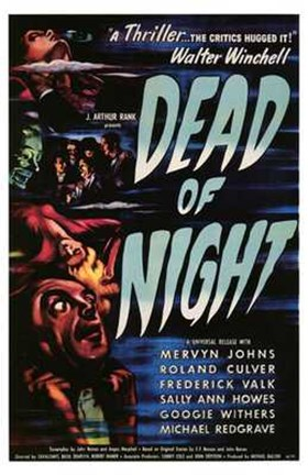 Framed Dead of Night Movie Print