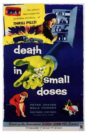 Framed Death in Small Doses Print
