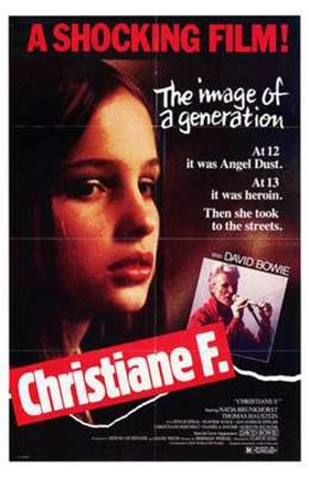 Framed Christiane F Print