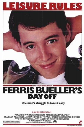 Framed Ferris Bueller's Day Off Print