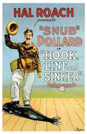 Framed Hook Line and Sinker Print