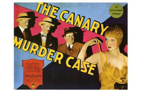 Framed Canary Murder Case Print