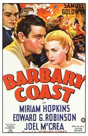 Framed Barbary Coast Print