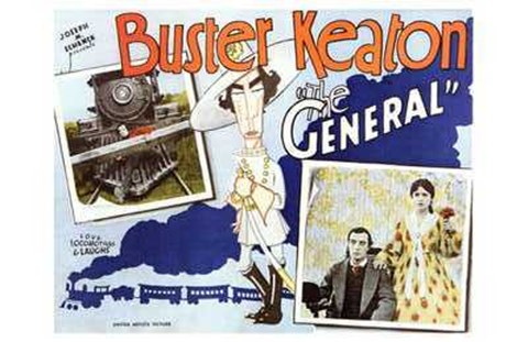 Framed General Bustler Keaton Print