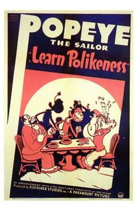 Framed Learn Polikeness Print