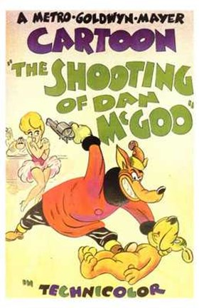 Framed Shooting of Dan Mcgoo Print