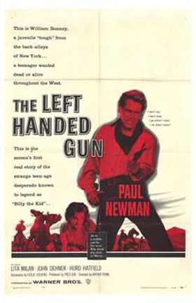 Framed Left Handed Gun Print