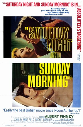 Framed Saturday Night and Sunday Morning Print