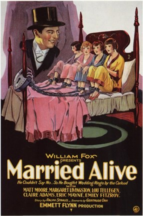 Framed Married Alive Print