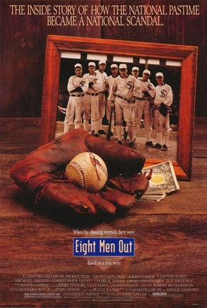 Framed Eight Men Out Print