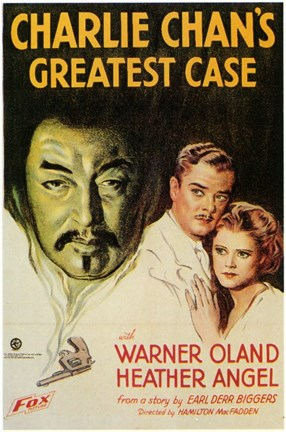 Framed Charlie Chan's Greatest Case Print
