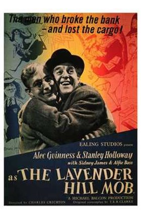 Framed Lavender Hill Mob Print