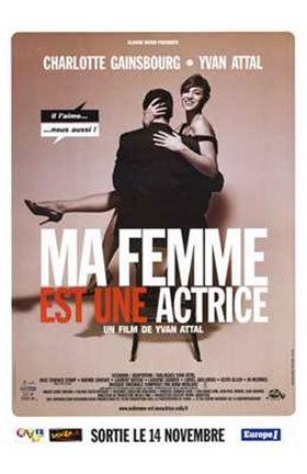 Framed My Wife is an Actress (Ma Femme Est En a Print
