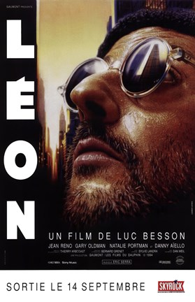 Framed Professional Leon (french) Print
