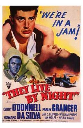 Framed They Live By Night Print