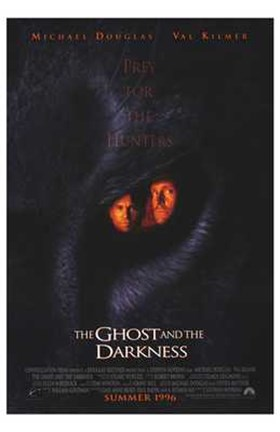 Framed Ghost And The Darkness The Movie Print