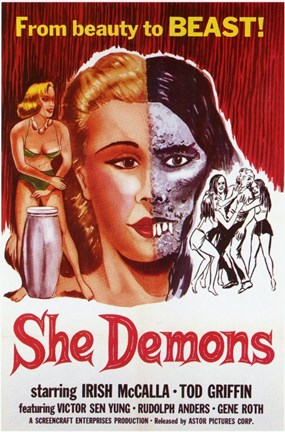 Framed She Demons Print