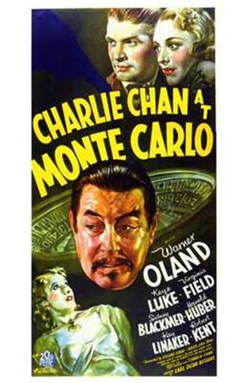 Framed Charlie Chan At Monte Carlo Print