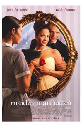 Framed Maid in Manhattan Print