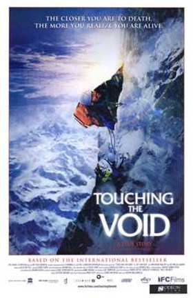 Framed Touching the Void movie poster Print