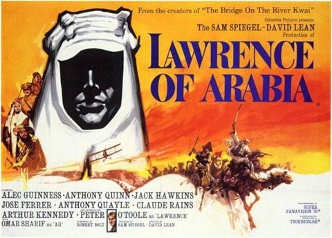 Framed Lawrence of Arabia Horizontal Print