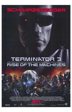 Framed Terminator 3: Rise of the Machines Print