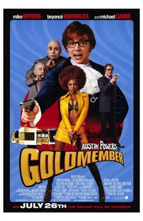 Framed Austin Powers in Goldmember Print