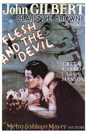 Framed Flesh and the Devil Print