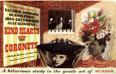 Framed Kind Hearts and Coronets Print