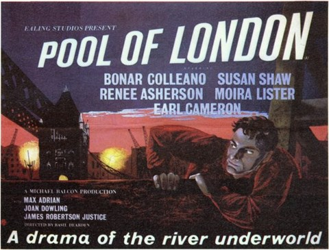 Framed Pool of London Print
