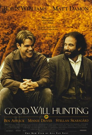 Framed Good Will Hunting Movie Print