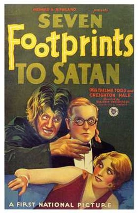 Framed Seven Footprints to Satan Print