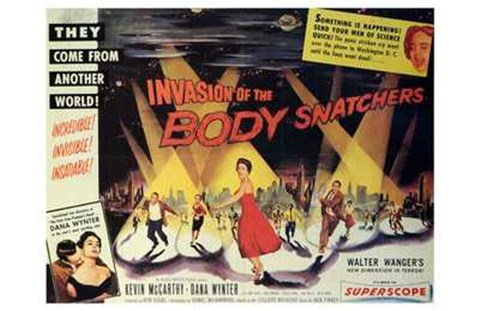 Framed Invasion of the Body Snatchers From Another World Print
