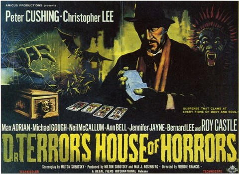Framed Dr Terror's House of Horrors Print