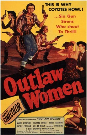 Framed Outlaw Women Print