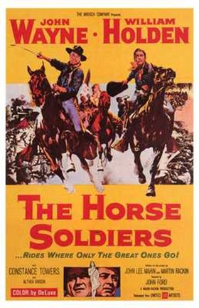 Framed Horse Soldiers Print