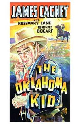 Framed Oklahoma Kid Cowboys Print