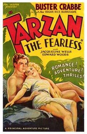Framed Tarzan the Fearless, c.1933 Print