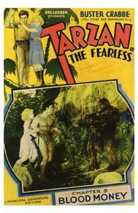 Framed Tarzan the Fearless, c.1933 chapter 5 Print