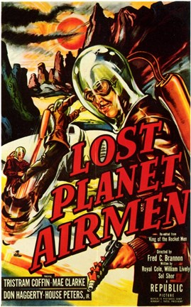 Framed Lost Planet Airmen Print