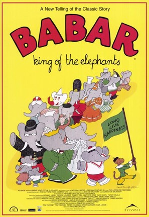 Framed Babar: King of the Elephants Print