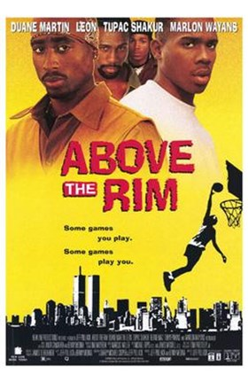 Framed Above the Rim Print