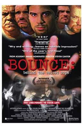Framed Bounce: Behind the Velvet Rope Print