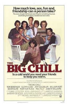 Framed Big Chill You Need Friends Print